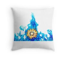 SnowFire (SnowStorm) Throw Pillow