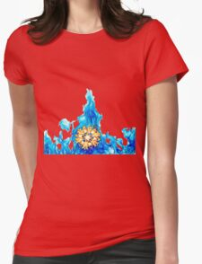 SnowFire (SnowStorm) Womens Fitted T-Shirt