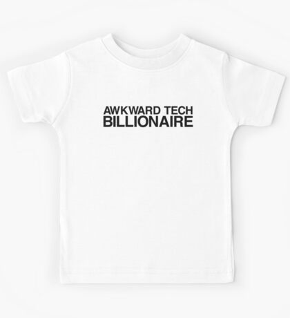 Awkward Tech Billionaire Kids Tee
