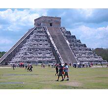 The Mayan Pyramids, Mexico Photographic Print