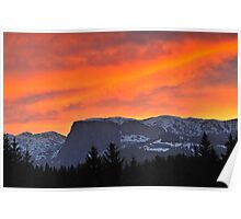 Durmitor Sunset Poster