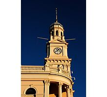 the winter morning in sydney Photographic Print