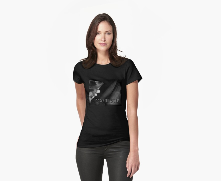 Cocktail Hour Tee by Margaret Bryant