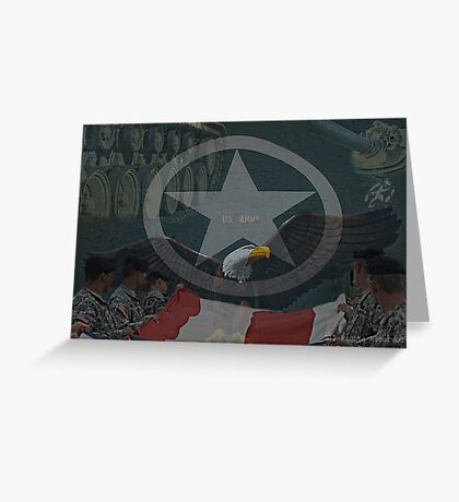 Army Parts Greeting Card