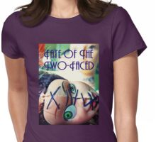 Fate of the Two-Faced Tee Womens Fitted T-Shirt