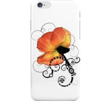 Poppy Goth iPhone Case/Skin