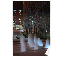 Water Worx & Fairy Lights Poster