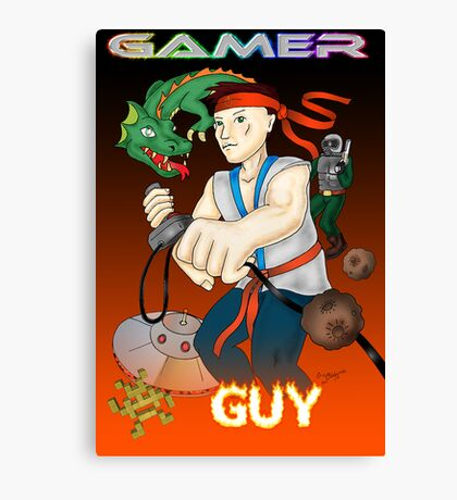 Gamer Guy Canvas Print