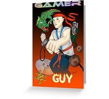 Gamer Guy Greeting Card