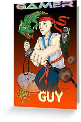 Gamer Guy by DarkRubyMoon