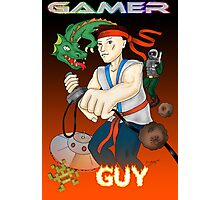Gamer Guy Photographic Print