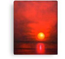 Sun Mist Morning Canvas Print