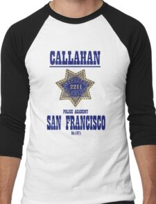 Dirty Harry's school of policing Men's Baseball ¾ T-Shirt