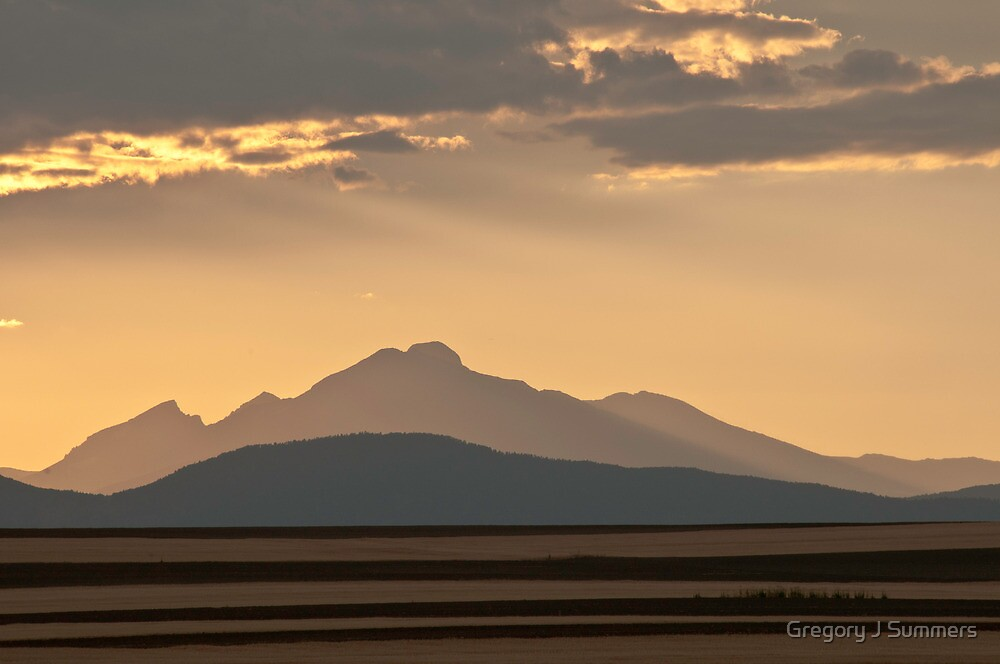 Gold In The Hills by nikongreg