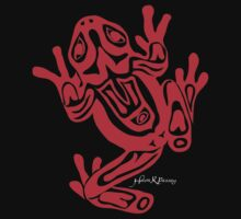 Northwest Coast Art Frog  by Helen K. Passey