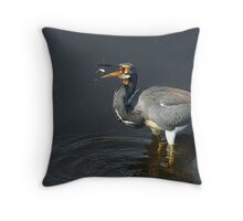 Nice Catch! Throw Pillow