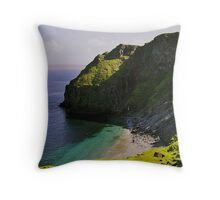 The Head of Virdibreck Throw Pillow