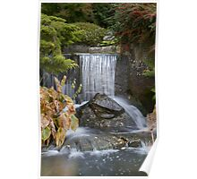 Waterfall at Kilver Court Poster