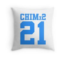 BTS/Bangtan Boys 'CHIMx2 21' Throw Pillow
