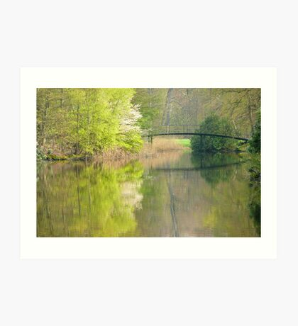 The bridge to spring Art Print