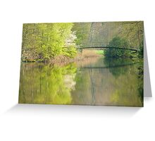 The bridge to spring Greeting Card