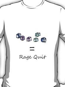 Rage Quit - Light T's T-Shirt