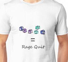 Rage Quit - Light T's Unisex T-Shirt
