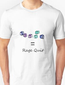 Rage Quit - Light T's T-Shirt