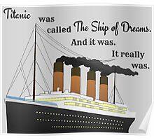 Titanic Quote Poster