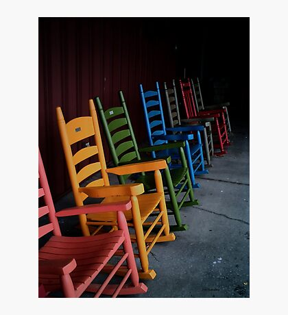 Chairs Photographic Print