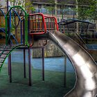 Empty Slide - London by Victoria limerick