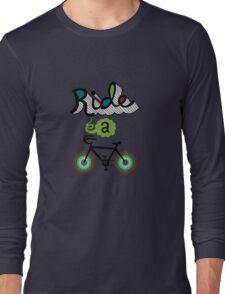 Ride a bike 3 Long Sleeve T-Shirt