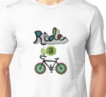 Ride a bike 3 Unisex T-Shirt