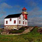 The Ferryland Lighthouse, Newfoundland by Jeremiah Keenehan