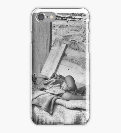 Sleeping baby iPhone Case/Skin