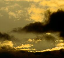 Cloudy Sky - Sunset by Rustyoldtown