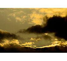 Cloudy Sky - Sunset Photographic Print