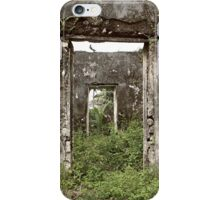 The weed house iPhone Case/Skin