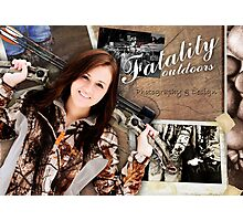 Fatality Outdoors Photographic Print