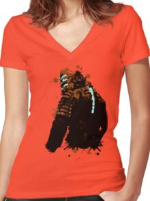 Dead Space - Isaac Clarke Women's Fitted V-Neck T-Shirt