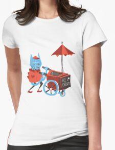 Ice Cream Beastie Womens Fitted T-Shirt