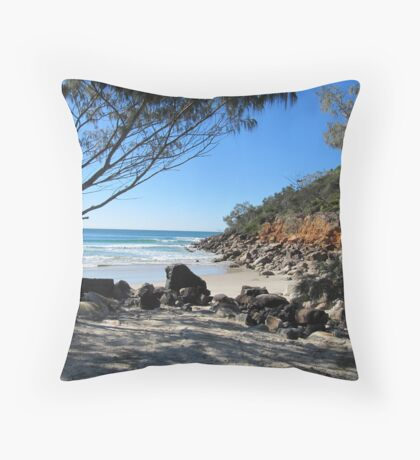 Lovley Cove 'Evans Head' N.S.W. Winter. Throw Pillow