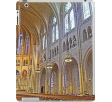 Inside Riverside Church iPad Case/Skin