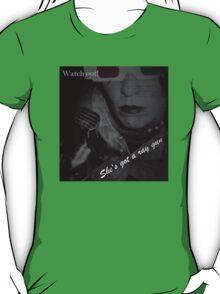 Watch Out!  She's Got A Ray Gun! Tee T-Shirt