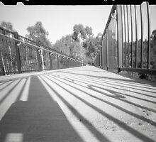 Footbridge at Templestowe by WCurrie