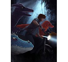 Jurassic Dragons~ Photographic Print