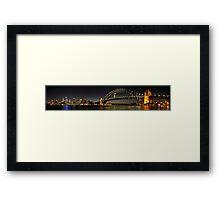 My City Sydney Framed Print