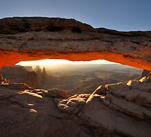 Sunrise at Mesa Arch by Ian Berry