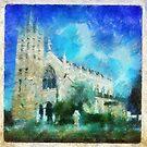 Church by Paul  Milburn