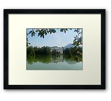 Reflection - Sound of Music - Austria Framed Print
